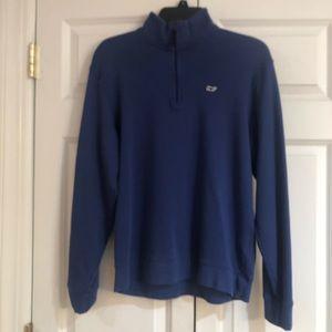 Men's -Vineyard Vines 3/4 Zip Sweatshirt